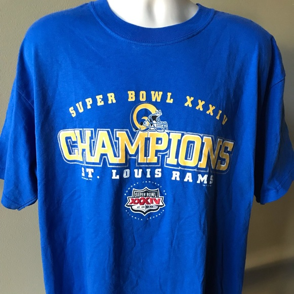 1c41b568 Super Bowl XXXIV Champs St. Louis Rams T-shirt